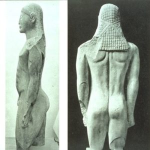 greekstatues- J shaped spine